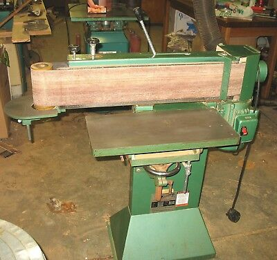 """Grizzly G-1140 - 6""""x 80"""" Edge Sander, Great Condition, Extra Belts.. In Michigan"""