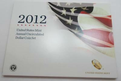2012 United States Mint Annual Uncirculated Dollar 6-Coin Set with Silver Eagle