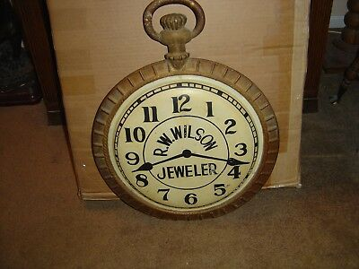 Antique Watch Trade Sign