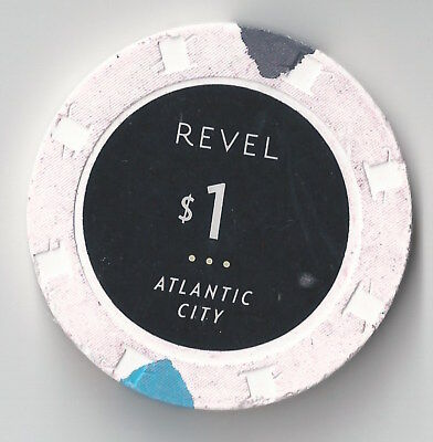 $1 Atlantic City Revel Casino Chip Brand New Opened Aprl 2012 And Now Closed