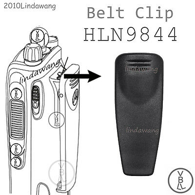 HLN9844 Belt Clip  for Motorola CP125 CP185 CP340 GP340 HT1550 Portable Radio