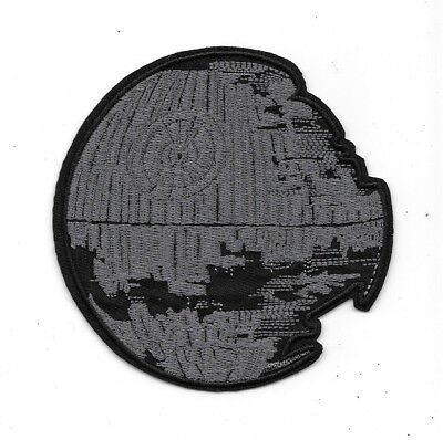 Star Wars Return of the Jedi Uncompleted Death Star Embroidered Patch NEW UNUSED