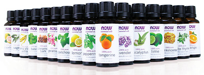 5 x NOW FOODS Essential Oils 100% PURE 30ml / 1 fl.oz.