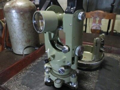 Wild T1A-E Theodolite Erect Image Good Condition With EDM Mounts