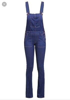 Pepe Jeans Dungarees Size Small Denim Jumpsuit
