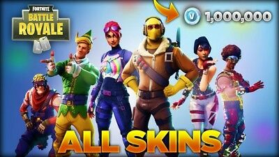 Fortnite Battle Royale Account 200 Plus Wins (All Skins & Cosmetics) XBOX1 / PS4