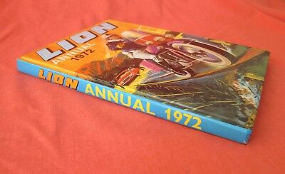Lion Annual 1972 Superb Condition Intact Spine Not Price Clipped Clean Bright