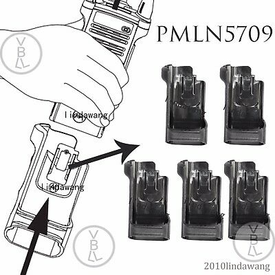 5x PMLN5709 Universal Carry Holder case For Motorola APX8000 Portable Radio