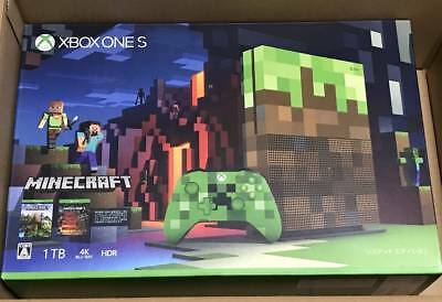 xbox one s 1tb minecraft limited edition