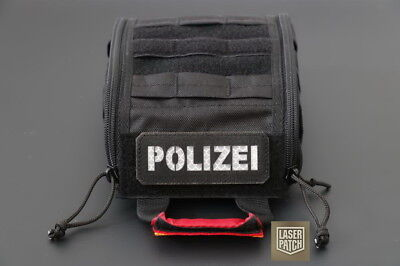 Patch Polizei Cordura 1000D-Laser-Cut Multicam,Coyote,Olive,Black,Atacs