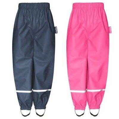 Playshoes Children Rain Trousers Wind Waterproof Girls Boys Rainwear Trousers
