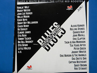 Various – Black & White Blues - The Little Red Rooster (Doppel-/ Double-LP)