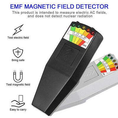 EMF Meter Magnetic Field Detector with 9V Batteries Hunting Paranormal Equipment