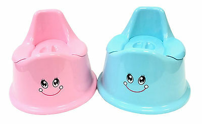 Kids Toddler Baby Boy Girl Plastic Potty Toilet Trainer Training Seat with Cover