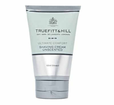 Truefitt and Hill Ultimate Comfort Shave Cream Unscented Tube - 100ml