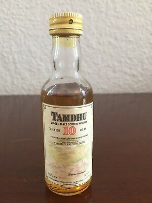 Tamdhu 10 Years old singel Malt scotch Whisky Miniature, Mini Bottle,