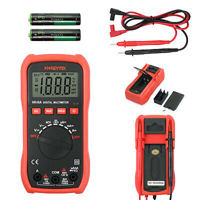 Electrical LCD Digital Clamp Meter Multimeter AC/DC OHM Multi Tester AU SHIP