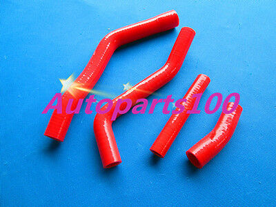Red Silicone Radiator Hose kit for YAMAHA YZF450 YZ450F 2014 2015