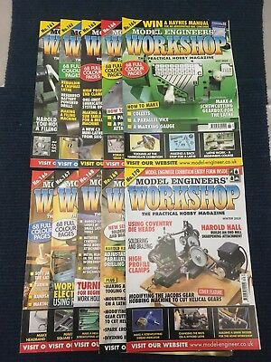Model Engineers Workshop Magazine Complete Issues 161 to 170 March - Winter 2010