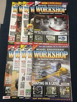 Model Engineers Workshop Magazine Complete Issues 171 to 180 Dec 2010- Sept 2011