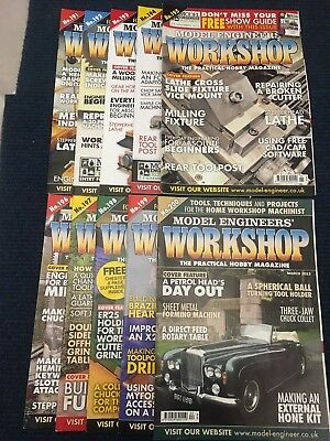 Model Engineers Workshop Magazine Complete Issues 191 to 200 Jul 2012 - Mar 2013