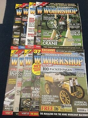 Model Engineers Workshop Magazine Complete Issues 201 to 210 April - Dec 2013