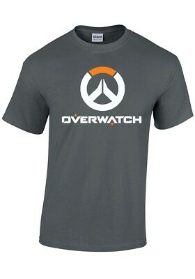 ** Overwatch ** Logo T Shirt ... Video Game   Many Colours Sizes   Aussie Seller