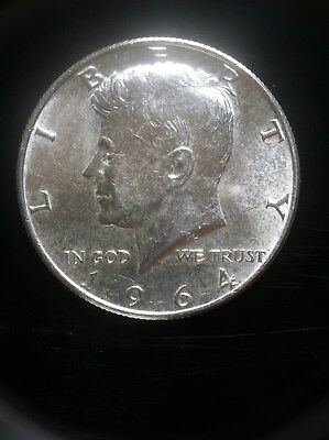 1964 P Kennedy 90% Silver Half  AU  ***MAKE OFFER***