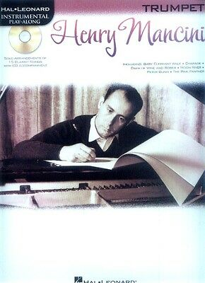 Henry Mancini 15 Standards Noten Play-Along CD Trompete Trumpet