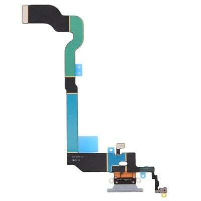 Genuine Apple iPhone XS, X Charging Port Flex Cable Replacement Spare Part White
