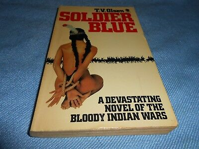 Classic Cult Western - SOLDIER BLUE - T V Olsen - Sphere, 1981