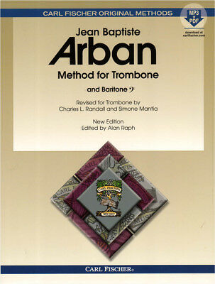 Jean-Baptiste Arban Famous Method for Trombone Posaune Noten mit Download Code