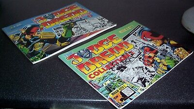 Daily Star THE JUDGE DREDD COLLECTION No's 2 and 3 (2000AD) - 1986/1987 VG/VG+