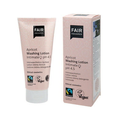 Fair Squared Intimwaschlotion Aprikose  100 ml