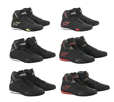Alpinestars Mens Sektor Motorcycle Street Riding Shoes - Pick Color/Size/Vented