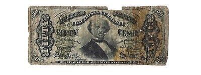 1863 Third Issue 50 cents Fractional Currency