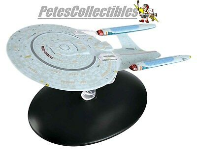 Eaglemoss Star Trek Probert Concept USS Enterprise NCC-1701-C W/ Color Magazine