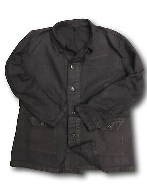 Swedish Vintage Originals Work Jacket Black ReMade