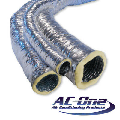 100mm Insulated Flexible Ducting 10m Box - Next day delivery