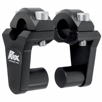 "Rox Black 2"" Pivoting Risers For 7/8"" Handlebars Xr650L, V-Strom, Drz, Klr"