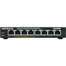 Switch Netgear 8 Ports 10/100/1000 Gs308 Boitier Metal