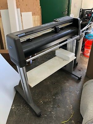 "30"" Graphtec Cutting Pro FC5100-75 Plotter.  Has broken hold down."