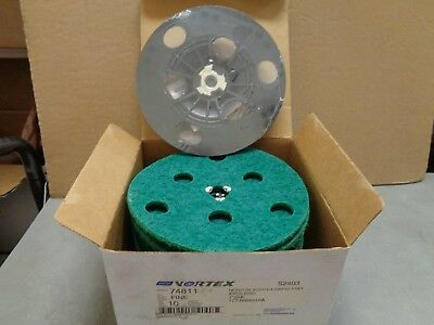 "10 Norton Vortex Fine Grit 7"" Avos Discs Plus 7"" Back Up Pad. FREE SHIPPING!"