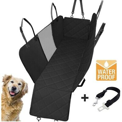 Pet Dog Rear Seat Cover Hammock Waterproof for Car Truck and SUV Luxury Travel