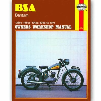 NEW Haynes Workshop Service & Repair Manual for BSA Bantam 1948-1971