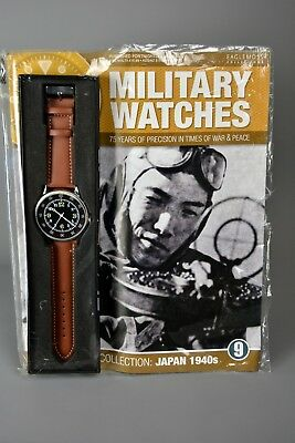 R&L Mag: Unsealed Eaglemoss Military Watches 9 Japanese Japan Pilot Airman 1940s