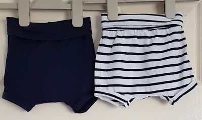 Set of 2 baby boy summer shorts 4-6 months H&M