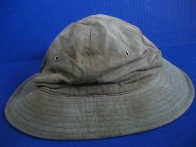 Orig. WWII WAC Daisy Mae HBT twill double vent holes