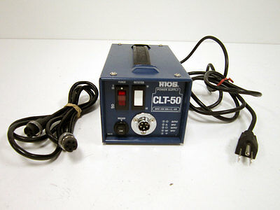 Hios Clt-50 Torque Driver Power Supply Controller With Control Cord