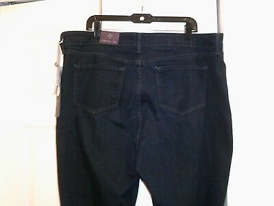 New!  NYDJ Not Your Daughters Jeans Marilyn Straight Plus size 20W  40 x 32